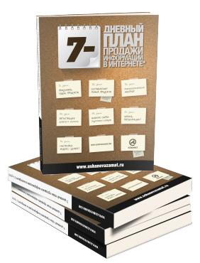 240 страниц пошаговых инструкций по инфобизнесу в интернете