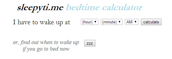 циклы сна в зависимости от времени засыпания